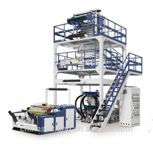 600mm aba 3 couches co-extrusion PE / recycler matériel soufflé film machine
