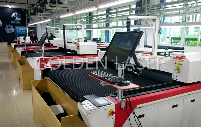 garment laser cutting machine golden laser