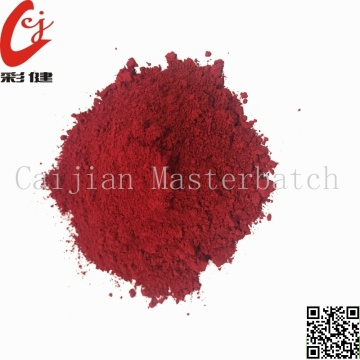 Tube Red Color Powder