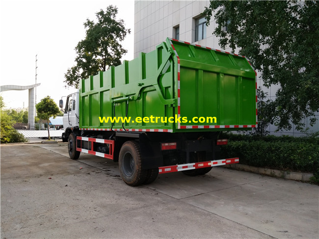 12 CBM Docking Garbage Trucks