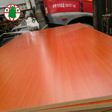 Green Colour Waterproof Medium Density Fiberboard MDF Board