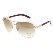 Haute qualité des lunettes de soleil en métal (SZ1545)