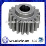 Small Size Stainless Steel Plastic Spur Gear