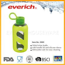 Safe, bouteilles en plastique à gros bouteilles avec couvercle en paille