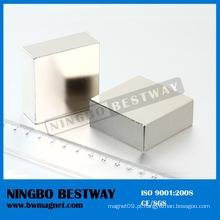N40 bloco magnético forte do quadrado