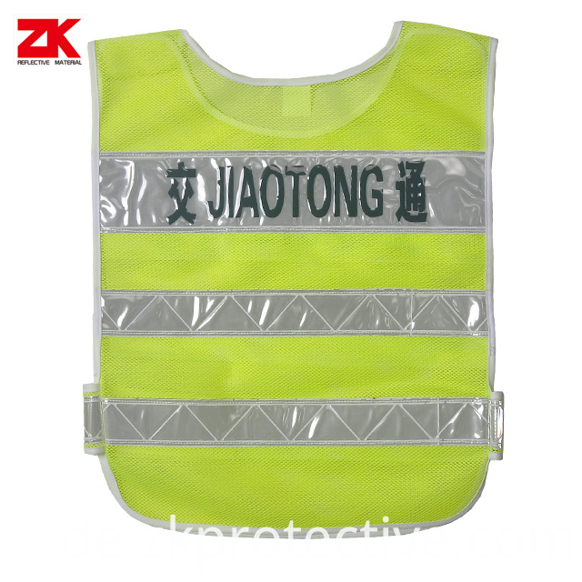 Safety Vest With Printing