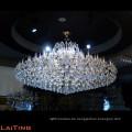 chinesische große Kristallleuchter für Hotels, großer Projektkristallleuchter LT-81173