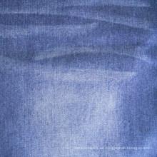 100% algodón Mercerized warp Slub tela de mezclilla