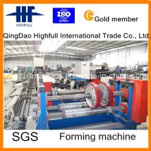 Metall / Stahl Profil / Kabelrinne Rollenformmaschine