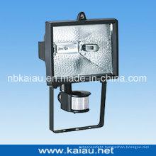 150W Halogen Floodlight with PIR Sensor (KA-FL-150B)