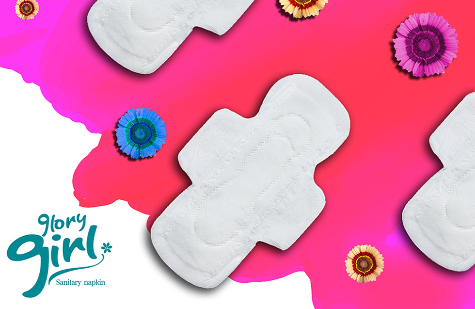 Pure Cotton Sanitary Napkins