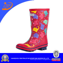 Fashion Unisex Kids Rain Boots Wellies Wellington Boots Rubber Boots (68056)
