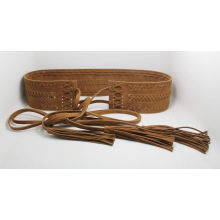 Fashion Brown Color Leather Belt Ky6300