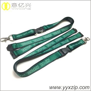 Wärmeübertragung druck grün lanyard halskette schlüsselbund