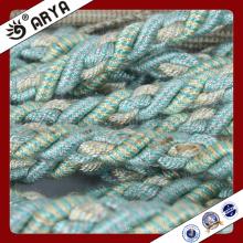 Corda decorativa azul claro para decoração de sofá ou acessório para decoração de casa, cordão decorativo, 6mm