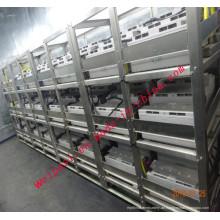 Edelstahl für Batterien Stahlrahmen Batterie Rack Ladezahnstange Kundenspezifischer Service Batterie Montage Racks 316L 204 304