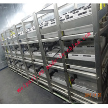 Acier inoxydable pour piles Boîtier en acier Porte-batterie Rack de chargement Service personnalisé Racks d'assemblage de batterie 316L 204 304