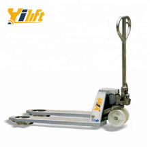 Stainless steel 316L and Stainless steel 304L hand manual Pallet Truck 2 ton
