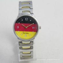 Le poignet de fantaisie du Japon Movt de dames observe vos montres faites sur commande de logo