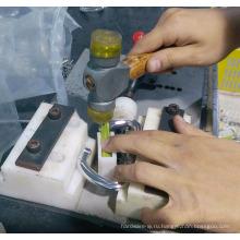 Заливка формы сплава цинка шкив полировка OEM и обслуживание customerized упорная