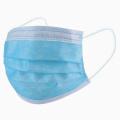 3-lagige nicht gewebte Einweg-Gesichtsmaske