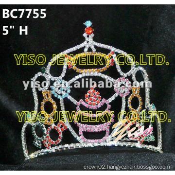 crystal tiara
