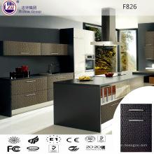 Moderner Küchenschrank mit PVC-Tür