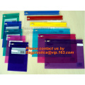 Office zipper bags, documents bags, stationery bags, Office Zipper Closure bags, zipper file bags, zipper document bags, Vinyl
