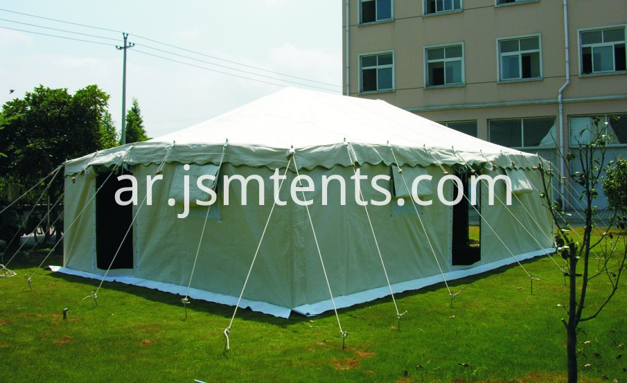 Chinese disaster relief tent