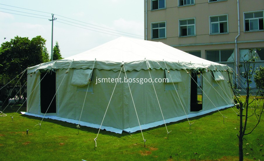 Disaster relief tent refugee tent
