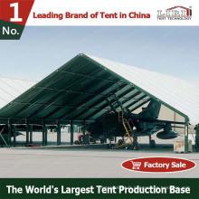 Tente militaire de hangar d'avion de tente d'armée résistante à vendre