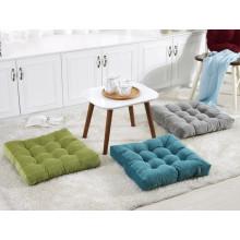 Sólido Aumento de cojín grueso de futón de pana