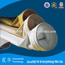 High temperature filter material for dust filter bag