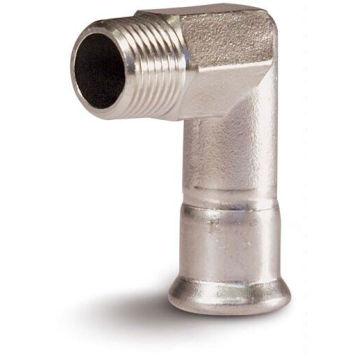 54*2 En 316L Pipe Fitting Elbow 90 Male X Press