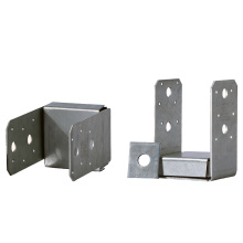 OEM Aluminum Magnesium Zinc Alloy Plate 4x4 Columns Base Connection Base with Gasket Stamping