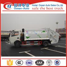 Dongfeng mini dimensiones del camión de basura usado