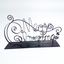 Metal Letter Merry Christmas Home Decor