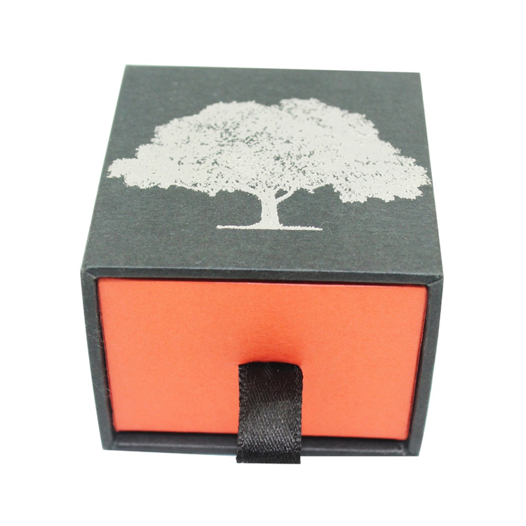Wholesale Gift Paper Jewelry Earring Sliding Box