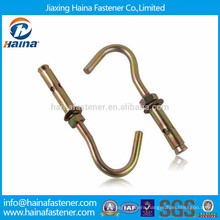 China manufacturer OEM galvanized sleeve anchor with hook bolt type for fan
