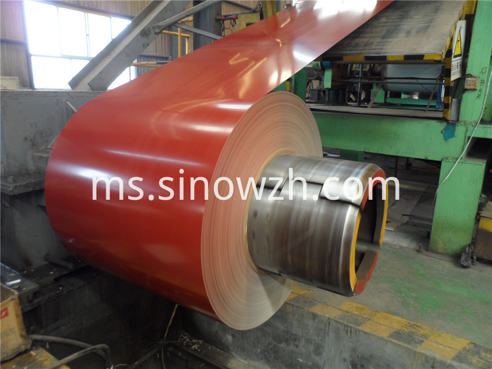 brick red color prepainted steel coil