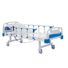 Cama elétrica do hospital de alta qualidade do equipamento ICU dos cuidados com a cama de hospital do corrimão