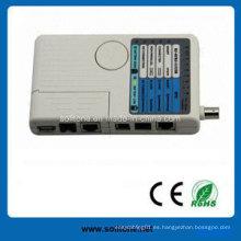 Probador de cable remoto para RJ45 / USB / BNC (ST-CT401)