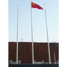 9m Цена Горячая DIP оцинкованная флага полюса