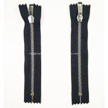 Stainless Steel Metal Luxury No Nickel Decorative Zipper