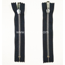 New Fashion Design for Metal Stainless Steel Zipper Stainless Steel Metal Luxury No Nickel Decorative Zipper export to France Factory