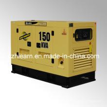 Toldo silencioso refrigerado por agua del generador diesel (GF2-150kVA)