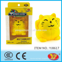 2016 new product YJ YongJun Fortune cat Magic Puzzle Cube Educational Toys English Packing for Promotion
