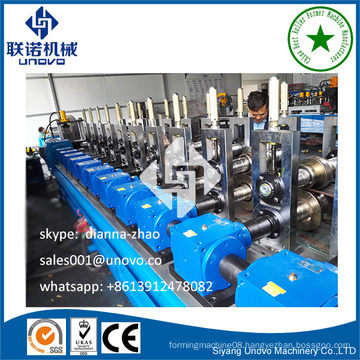 partition keel frame production line self locked machine