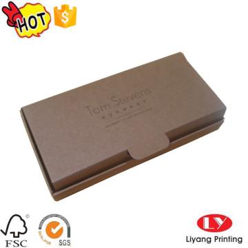 Customized kraft paper one piece folding box