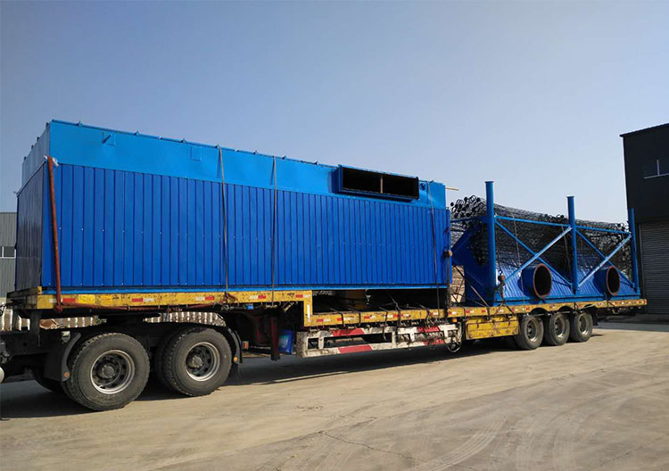 Delivery of pulse bag dust collector